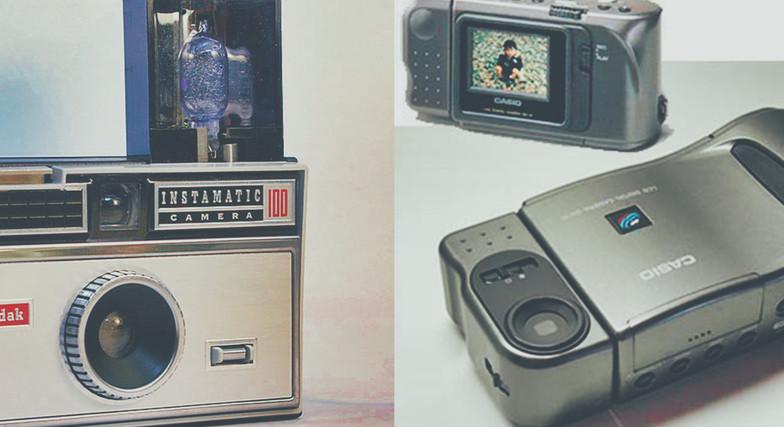 1985-1995 First Cameras