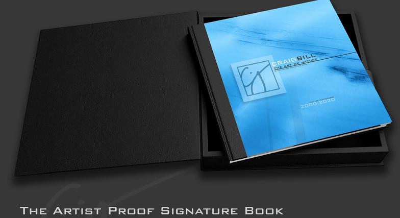 Artist Proof Signature Book - The Art of Nature