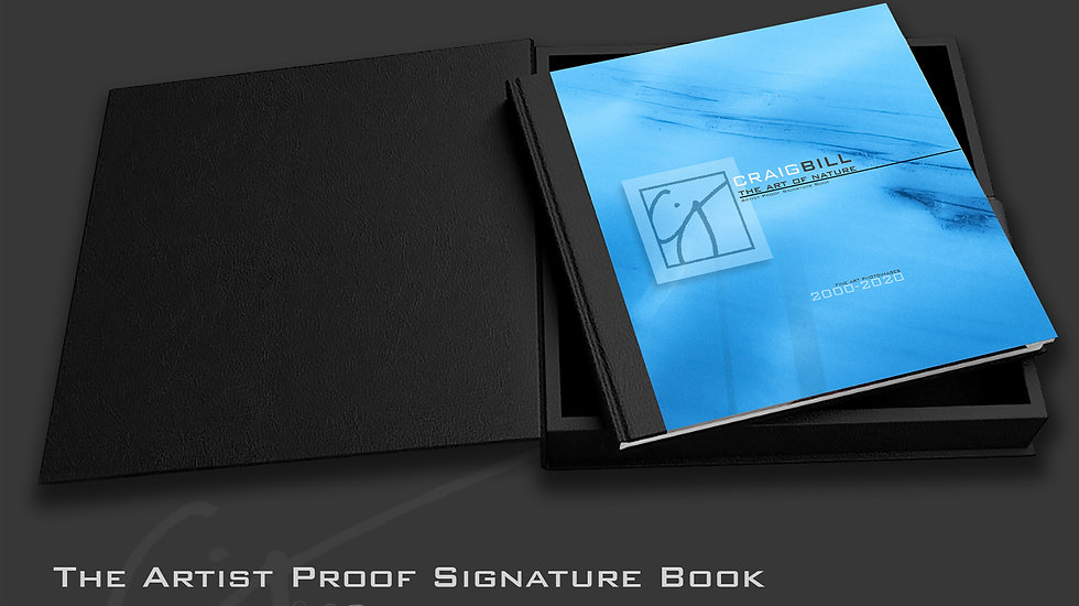 The Art of Nature - Artist Proof Signature Book