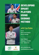 Developing Smart Players using Ekkono Method   Zoom, 09.09.2020