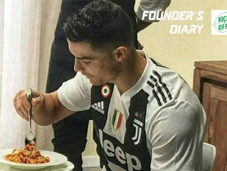 [Founder's Diary] Melongok Pola Makan Cristiano Ronaldo