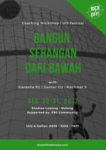 """Workshop Kepelatihan """"Bangun Serangan dari Bawah""""   Malang, 30-31/12"""