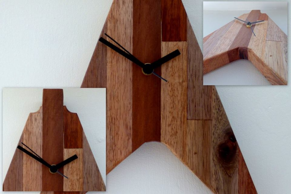 Handmade Clocks Rekindled Yard