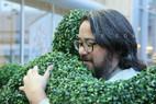 Hedge Hug in Amsterdam