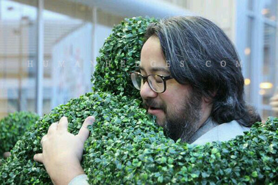 Hedge Hug in Amsterdam