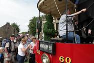 Boarding A Tram