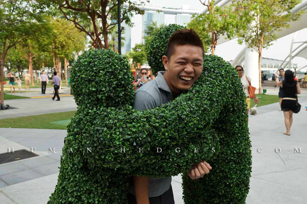 Double Topiary Hug