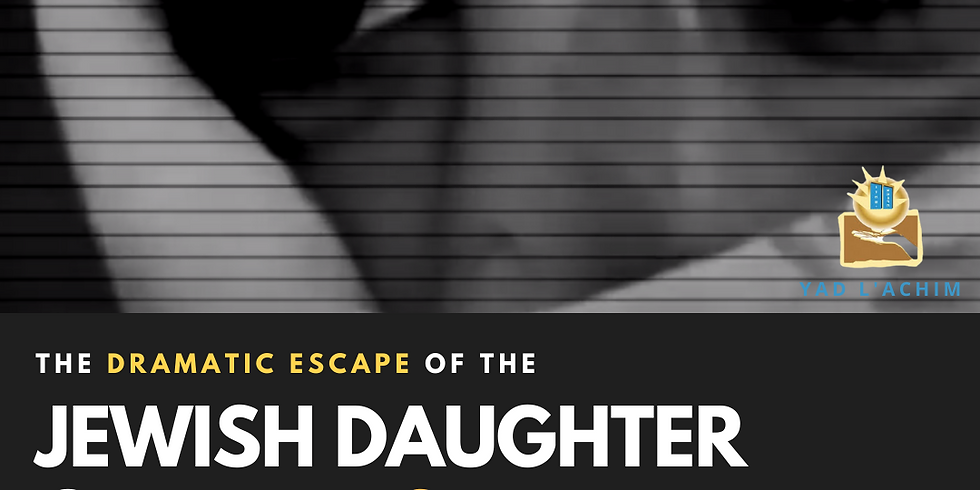 The Dramatic Escape of the Jewish Daughter of Hamas