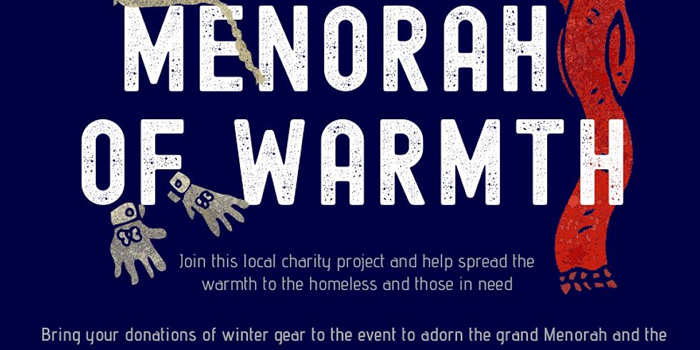 MENORAH OF WARMTH - Grand Menorah Lighting