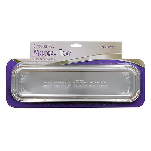 Foil Menorah Tray