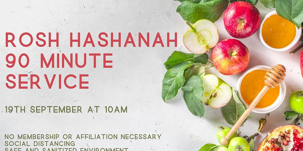 Rosh Hashanah 90 Minute Service