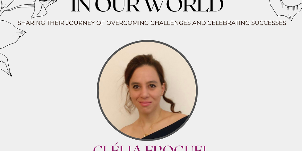 Women In Our World: Clelia Froguel