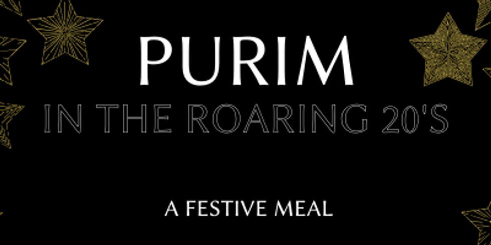 Roaring 20's Purim Festive Meal