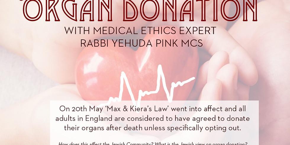 Organ Donation in Jewish Law