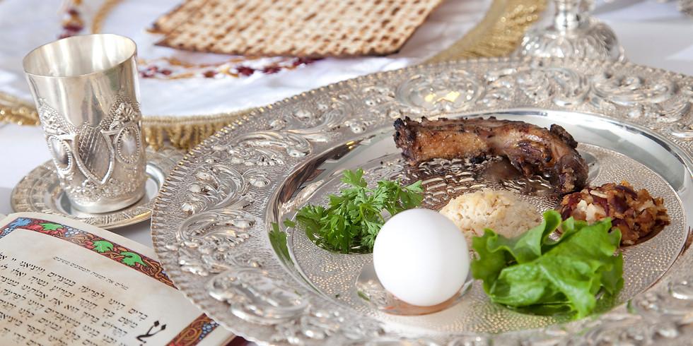 The Virtual Seder - Can Jewish Ritual Be Enjoyable?