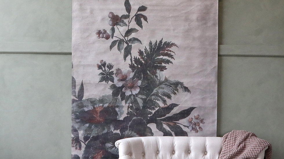 Floral hanging canvas