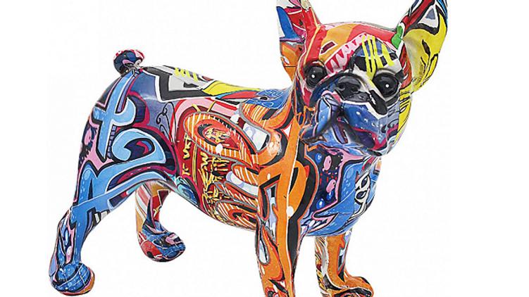 Graffiti French bulldog