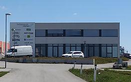 Bürogebäude in Stetten der speedi Werbeagentur