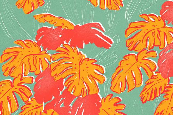 Screen print Pattern