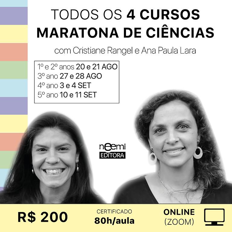 Todos os 4 Cursos Maratona de Ciências On-line