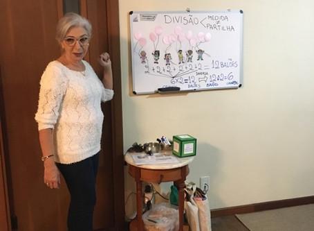 """Curso """"A Construção da Divisão"""" com Ana Cristina Souza Rangel"""