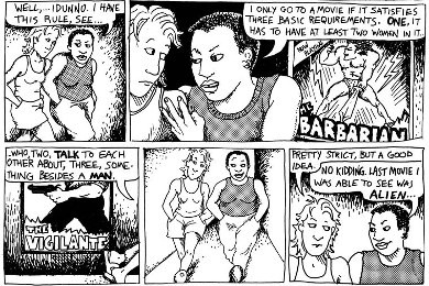 Bechdel had it right.