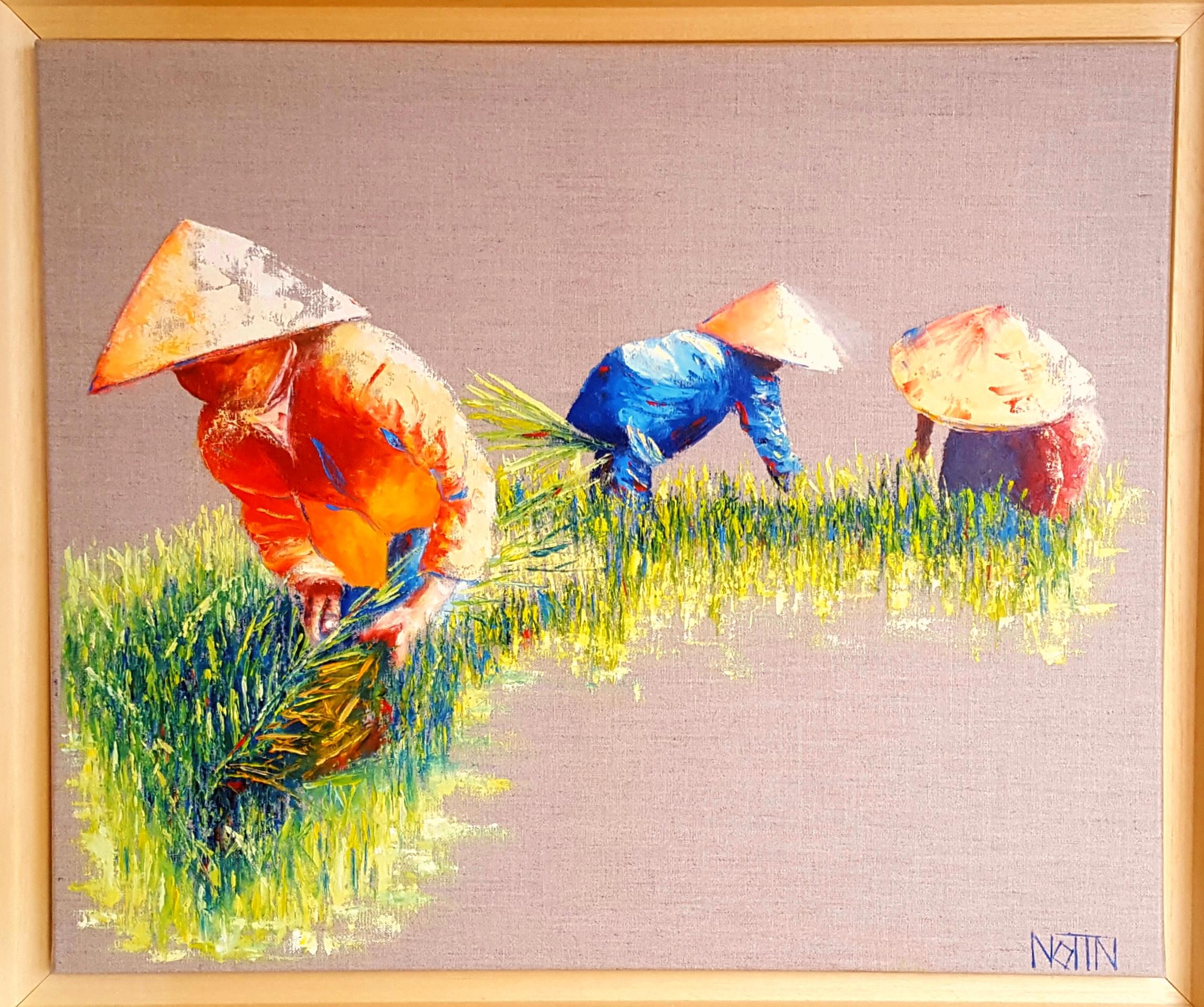 A la rizière