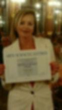 Mon diplôme de Médaille d'étain
