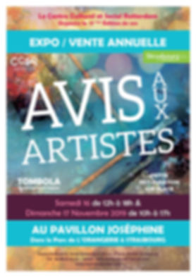avis_aux_artistes 2019