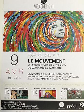 Expo sur le mouvement à lagny-sur-Marne77