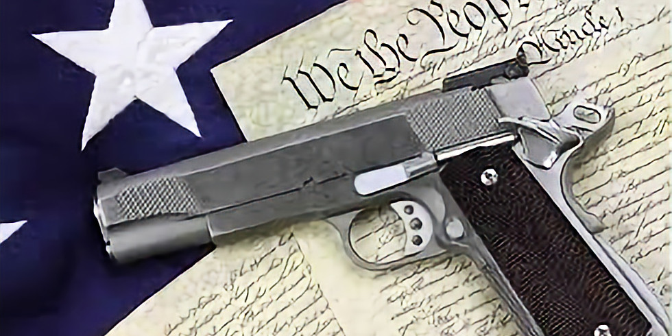 *******CLASS IS FULL*******Unrestricted Pistol Permit Course 2/8