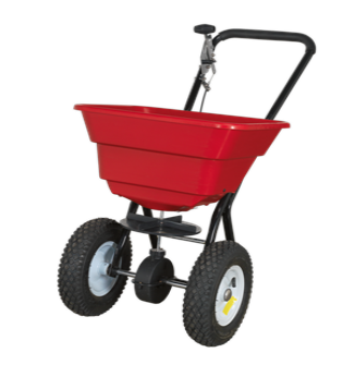 SEALEY 37KG WALK BEHIND BROADCAST SPREADER