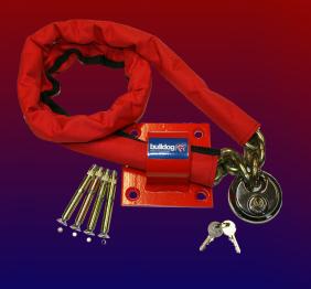 Bulldog MC30 High Security Chain ,Padlock And Ground Anchor
