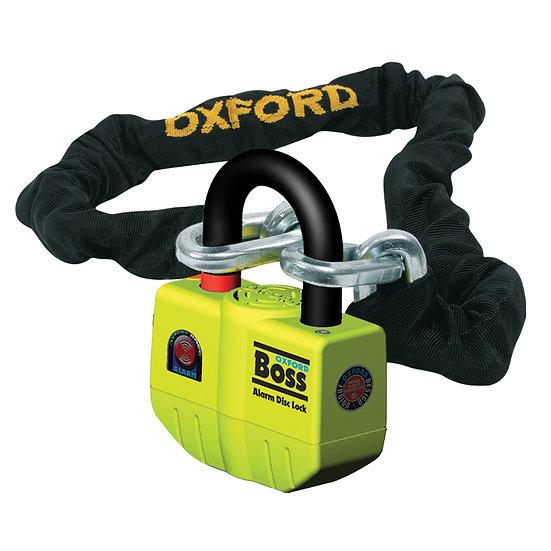 Oxford Boss Alarm Lock & Chain 12mm x 1.5m