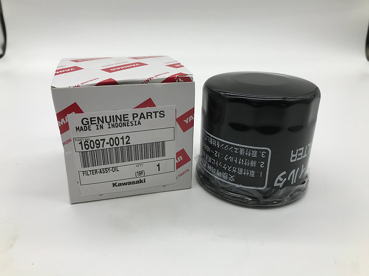 Genuine Kawasaki Oil Filter - OEM 160970012