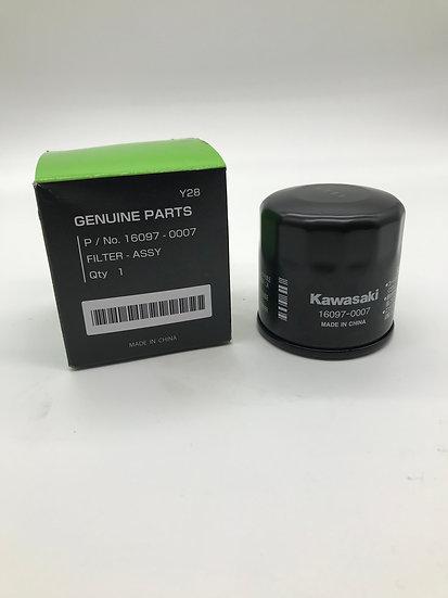 Genuine Kawasaki Oil Filter - OEM 160970007