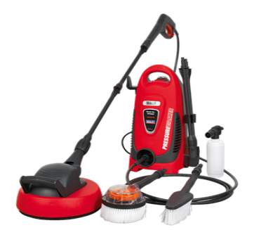 Pressure Washer 110bar with TSS & Rotablast Nozzle 230V with Accessory Kit