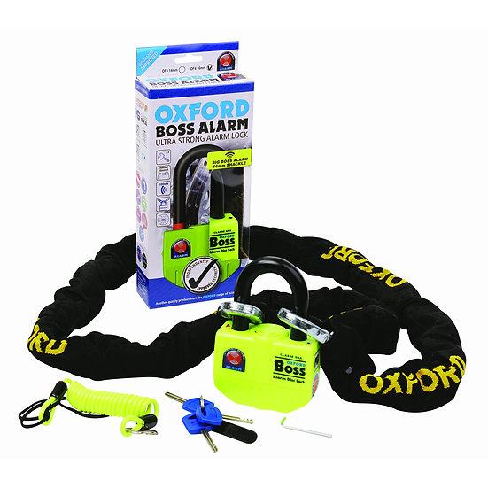 Oxford BIG Boss Alarm Lock & Chain 12mm x 2.0m