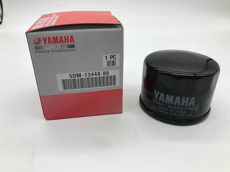 GENUINE YAMAHA OIL FILTER - OEM 5DM-13440-00
