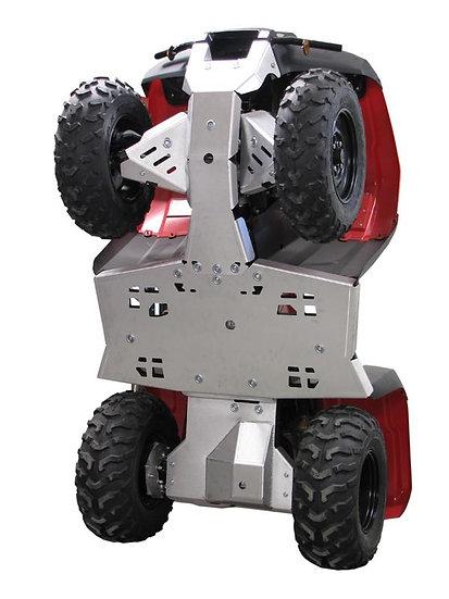 Aluminium Skid plate full set Honda TRX 420 FA / FE / FM  (2014+)