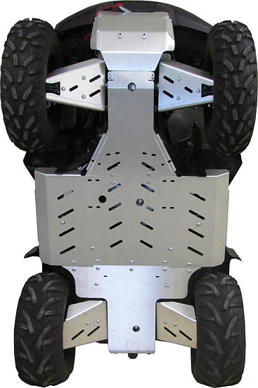 Aluminium Skid plate full set Suzuki KingQuad 500/750 Axi (EPS) 2019 Onwards