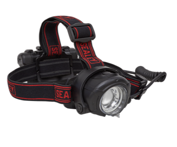 Head Torch 5W CREE XPG LED Rechargeable with Adjustable Focus & Brightness