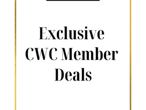 We're looking for local deals exclusively for our CWC Members...
