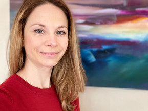 Business Spotlight Interview: Jessica Bleasby, Cheltenham Contemporary Fine Artist.