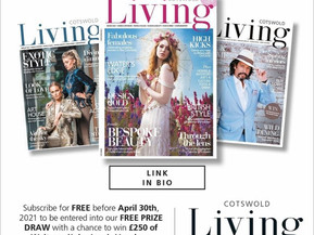 Win £250 John Lewis Vouchers with Cotswold Living!