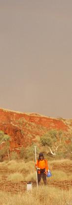 Gravimetry in the Australian outback.