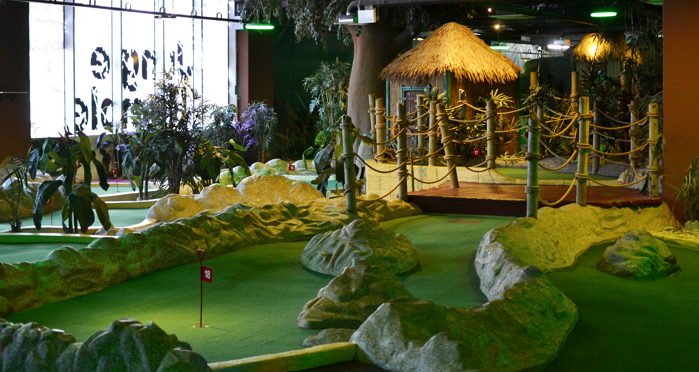 Golf, Jungle rumble adventure golf,