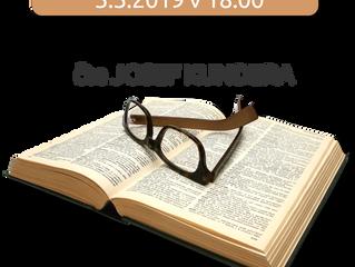 Četba pana Kundery 3.března