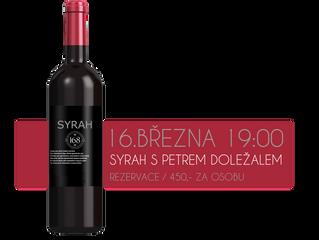 Vinný večer SYRAH