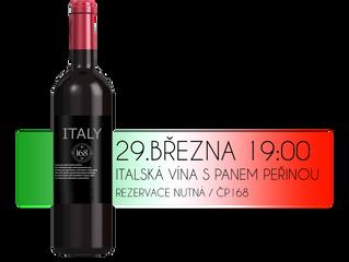 Večer s italskými víny